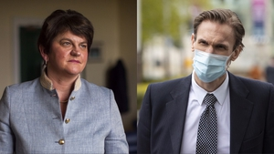 Arlene Foster said she was hurt and humiliated by false allegations by Dr Christian Jessen