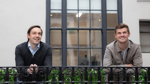Wayflyer Co-founders Aidan Corbett and Jack Pierse