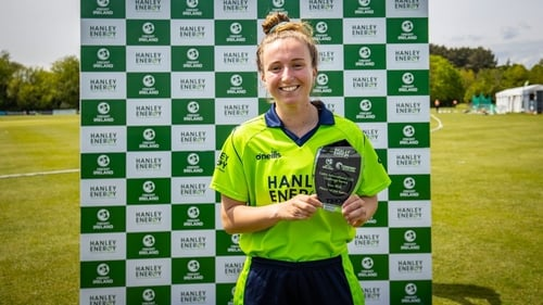 Leah Paul was named Ireland's player of the series against Scotland