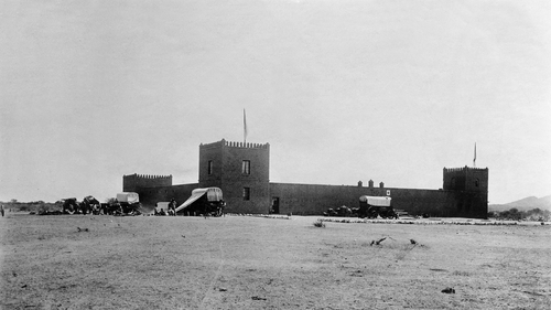 A German military fort in what was then German South West Africa c1904