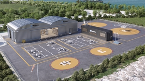 Skyports' cargo drone port