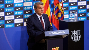 Joan Laporta has threatened legal action if sanctions are handed down