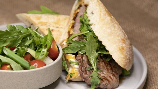 Paul McDonald's steak sandwich (also doubles as a great BBQ sandwich).