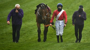 Envoi Allen was pulled up by Rachael Blackmore at the Punchestown Festival