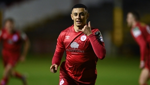 Yousef Mahdy scored Shels' third goal of the night
