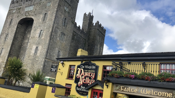 Bunratty Castle and Durty Nellys attract thousands of visitors every year