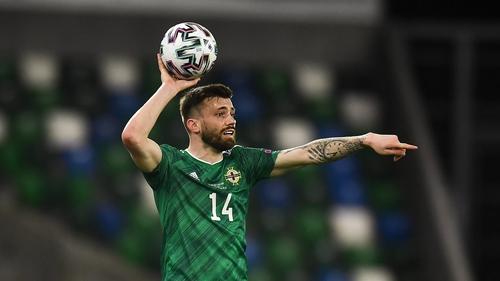 Stuart Dallas will lead Northern Ireland out against Malta