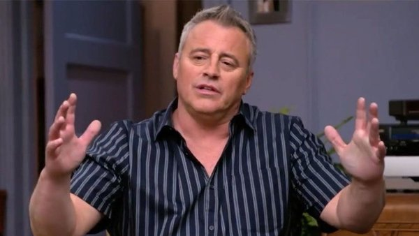 Matt LeBlanc: he'll be there for you