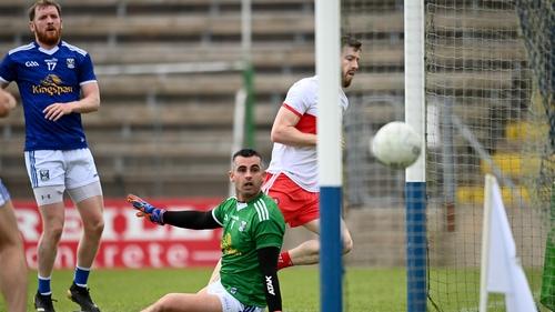 Niall Loughlin scores Derry's goal