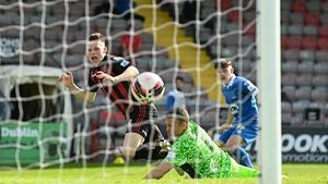 Andy Lyons scored Bohs' third