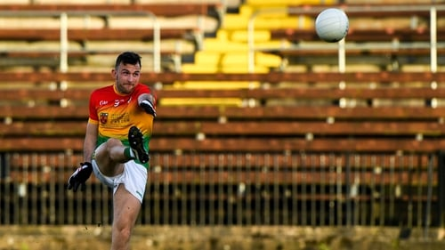Darragh Foley landed the winning score as Carlow pipped Wexford in Division 4 South