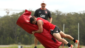 Kilgallon gave six years of his expertise to the Sydney Swans