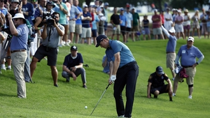 Spieth finished strongly to maintain his advantage