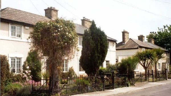 Some of the houses built by Rev David Hall and the St Barnabas Public Utility Society in Dublin's East Wall. Photo: Ruth McManus