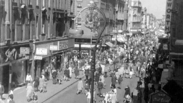 Pedestrianisation of Henry Street (1971)