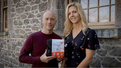Aisling and James on Dragon's Den.