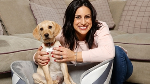 Lucy Kennedy with Riley