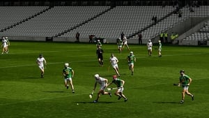 Cork (pictured in white against Westmeath this month) were among the first counties to adopt a short-passing running game