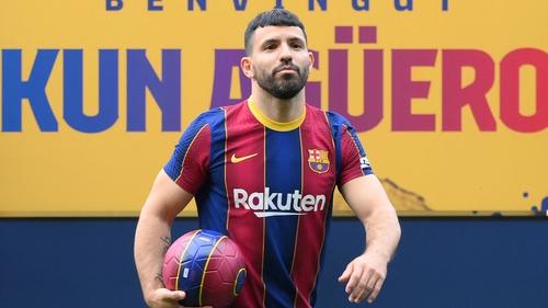 Sergio Aguero will join Barcelona on 1 July