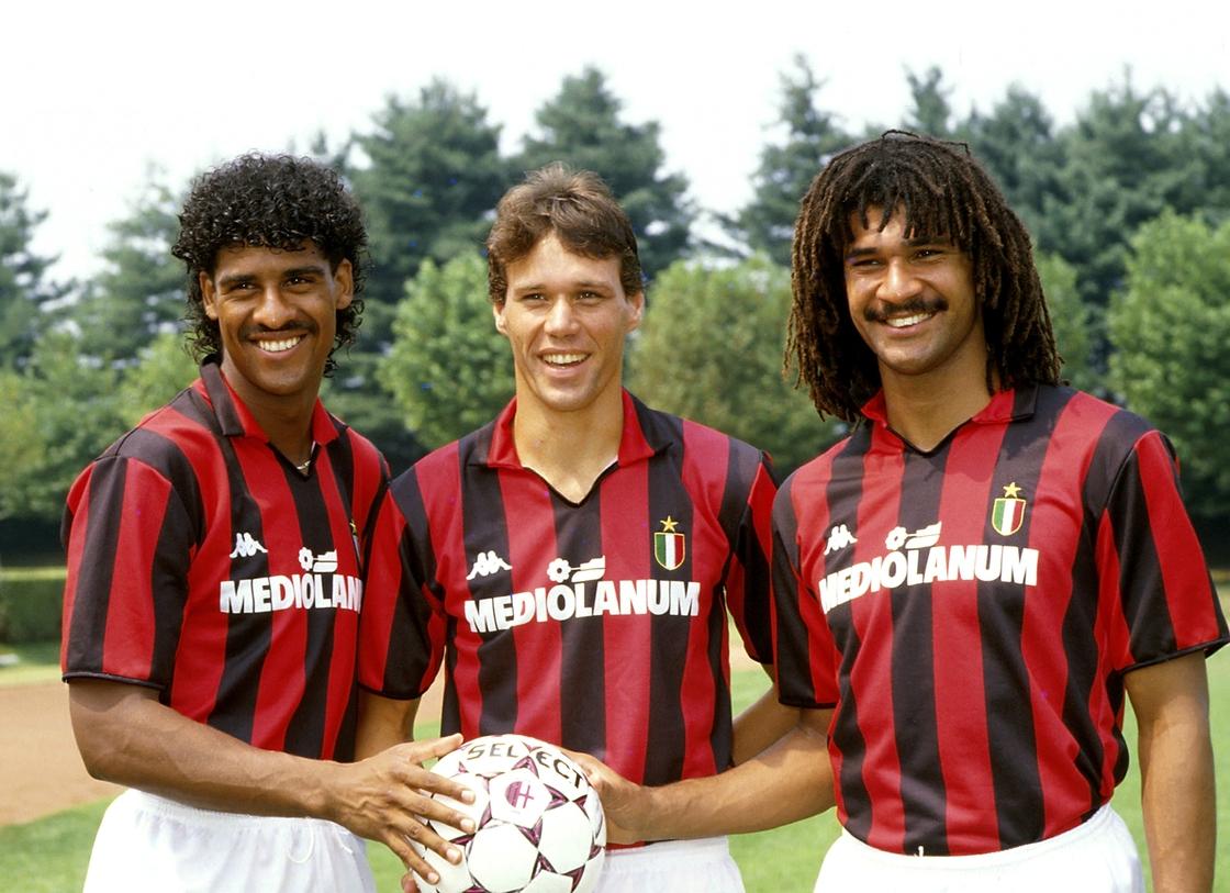 Image - Rijkaard, would join Van Basten and Gullit at AC Milan in 1988