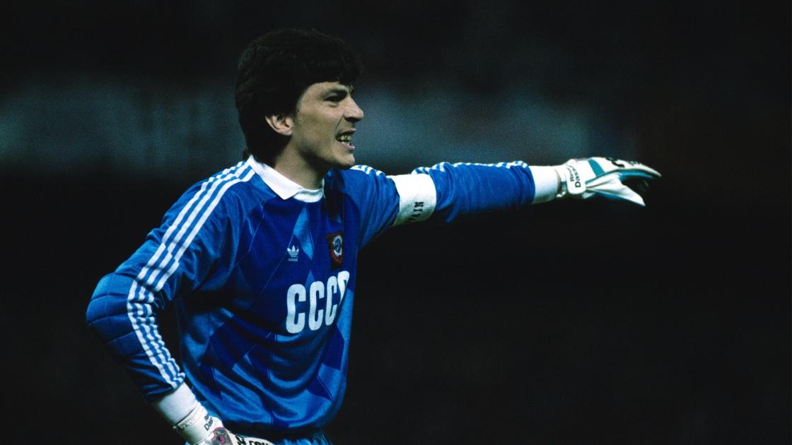 Image - Rinat Dasayev during the final