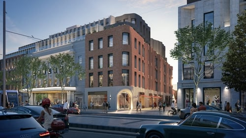 The 'Dublin Central' masterplan proposals include two new public squares, new pedestrian routes and the restoration of historically important laneways