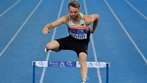 Thomas Barr: the delay to the Olympics has allowed his coaches make technical improvements to his hurdling