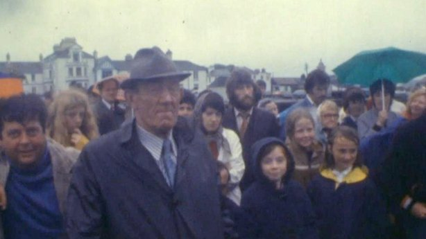 Crowds turn out for blessing of the boats at Valentia Island (1981)