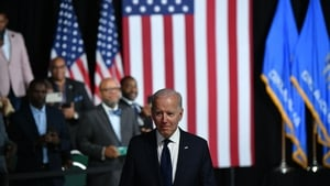 'I come here to help fill the silence because in silence wounds deepen' - Joe Biden