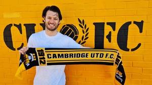 Wes Hoolahan. Photo: Cambridge United Media