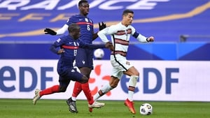 Pogba, Kante and co will be hoping to make up for their Euro 2016 final loss to Ronaldo's Portugal