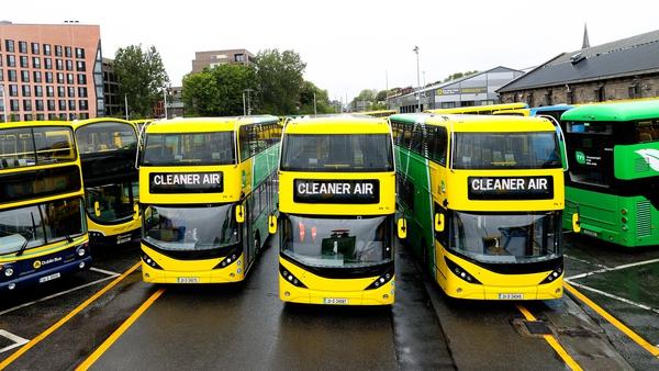 Dublin Bus has 14 hybrid buses in service