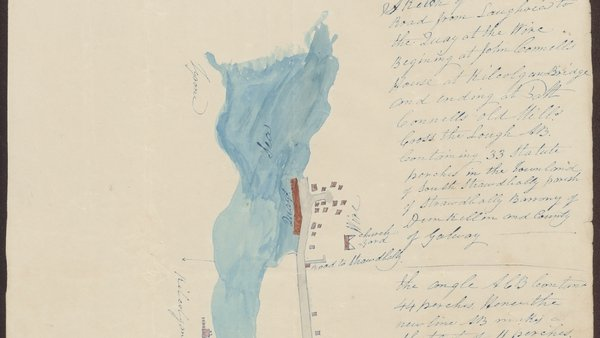 A detail of the map