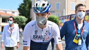 Froome now rides with the Israel Start-Up Nation team