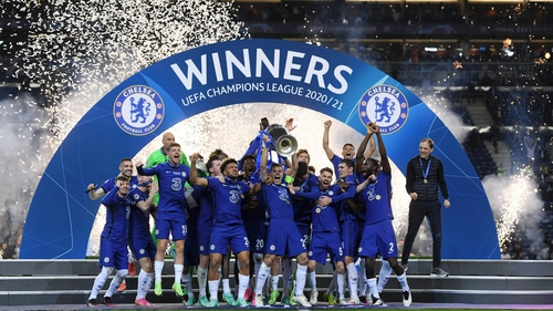 European Cup holders Chelsea will play in Belfast in August