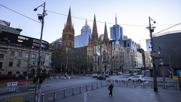 Melbourne quiet amid a snap lockdown