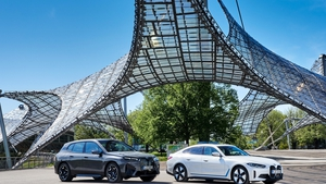 BMW's new iX and i4 will both go on sale in November.