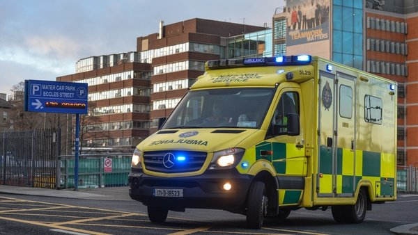 The Government had decided that a major trauma centre will be located in Dublin's Mater Hospital