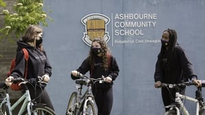 #AndSheCycles: Cyclists from Ashbourne Community School
