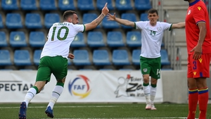 Troy Parrott is on top of the world after scoring his first goals for his country