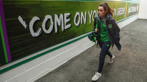 Roma McLaughlin is back in the Republic of Ireland squad
