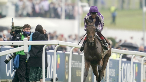 The winner came home 16 lengths ahead of the field