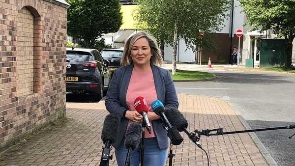 """Michelle O'Neill said today that """"the time for bluster and bluff is over"""" on the issue of the Irish Language Act"""