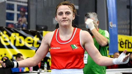 Michaela Walsh is back in the ring on Sunday