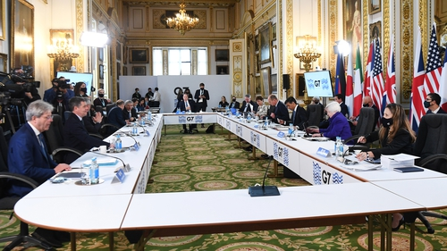 The G7 finance ministers met in London
