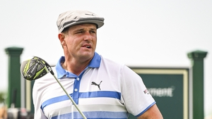 Bryson DeChambeau was heckled by supporters of Brooks Koepka