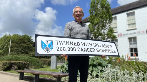 Michael Healy, one of a growing band of cancer survivors in Ireland, celebrates National Cancer Survivors' Day