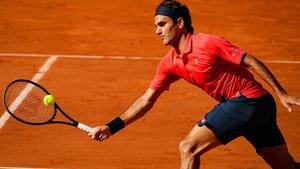 Roger Federer had to dig deep against Dominik Koepfer