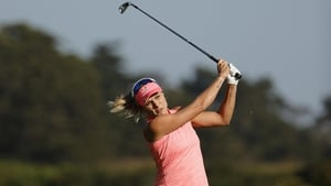 Lexi Thompson is on top at the USWomen's Open