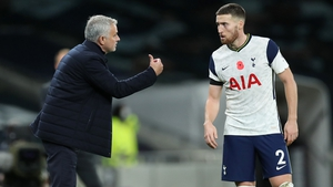 Jose Mourinho lasted just 17 months as Spurs manager